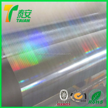 Vivid Patterns Reflective BOPP Holographic Thermal Lamination Film