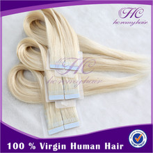 Alibaba Wholesale Good Quality Cheap Russian 100% Virgin Human Tape Hair