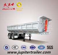 High Quality 3 Axle Dump Semi Trailer for Trailer Truck