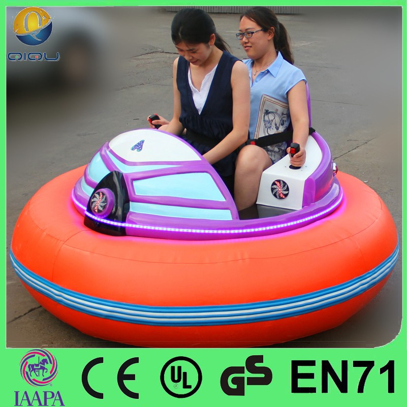 Manufacture new design 24v battery and brushless motor bumper car games electric bumper cars for kids with factory price