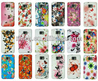 Flower Soft TPU back Case Cover For Samsung Galaxy S2 SII i9100