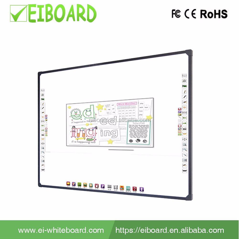 School supplies aluminum frame electronic optical interactive whiteboard