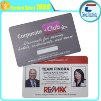 Dual Sided Offset Printing Plastic Photo ID Business Card