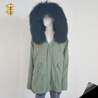 Winter real fur jackets coat for mens latest design fashion jackets overcoat
