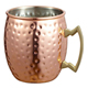 High Quality Hammered Copper Plated Stainless Steel Copper Mug Drum-Type Moscow Mule Mug