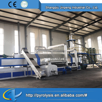2015 Newest generation full automatic used tire pyrolysis plant for sale