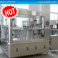 carbonated beverage processing filling line for plastic bottle