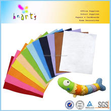 A4 colored soft craft polyester felt for DIY