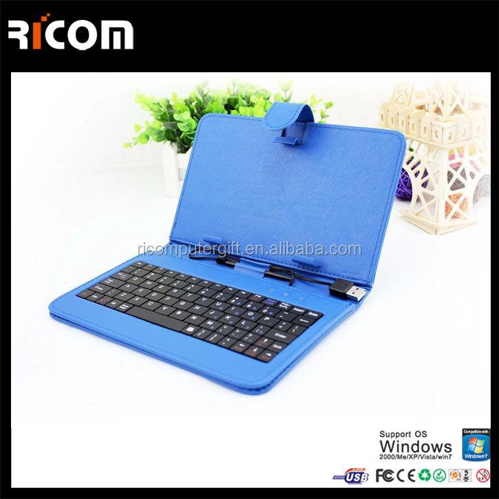 smartphone keyboard case For ipad keyboard case for ipad 2 3 4 -BK510B-Shenzhen Ricom