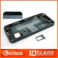 Hot selling replacement parts for iphone 5 back cover housing