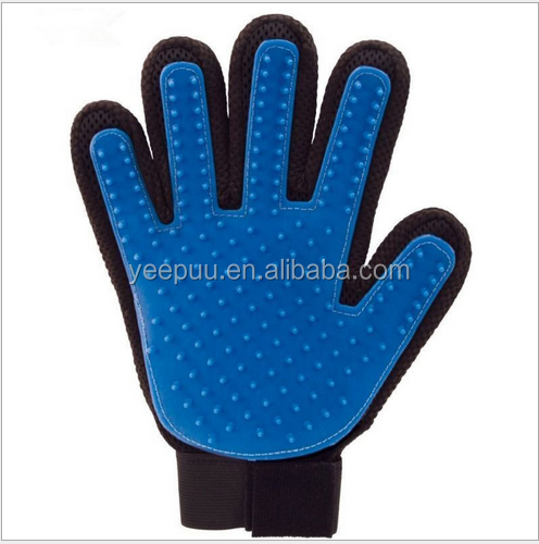 True Glove Touch for Gentle and Efficient Pet Grooming True Magic Touch