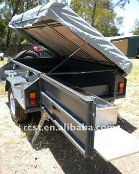 off road heavy duty camping trailer tent trailer