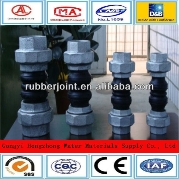 Export special fan coil rubber joint