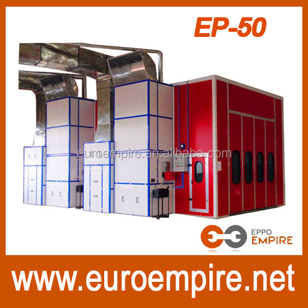 First choice CE approved China supplier dry paint booth/powder coating oven racks/spray booth open face