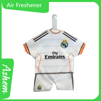Gifts promotion T-shirt air freshener hanging cloth air freshener with logo printing, M-987