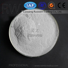 The Most Welcom Grey Densified Silica Fume / Silica Flour / Micro Silica For Low Cement Castable