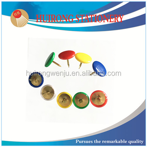colorful pvc plastic thumb tack with high quality