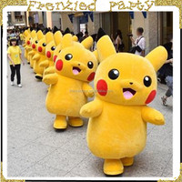 cheap japan cartoon pikachu mascot costume FGC-0003