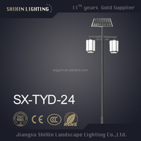 2016 newest super bright 70w street solar led outdoor garden lighting pole