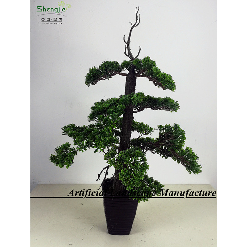 SJ10050Artificial Plant Bonsai Fake Yacca for Indoor Decoration