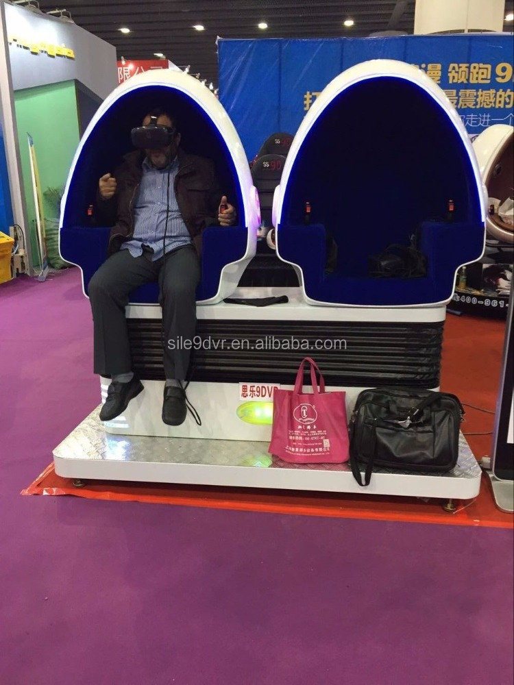 Factory price 9D VR Vibrating Virtual Reality Video Games 9d vr single seat