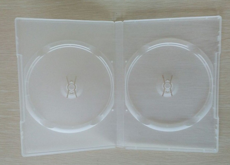 14mm Transparent DVD Case