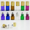 1ml 2ml roller bottle wholesale stainless roll on ball for perfume essential oil medicine use