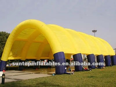 giant durable inflatable event tent can be customized for the color and size