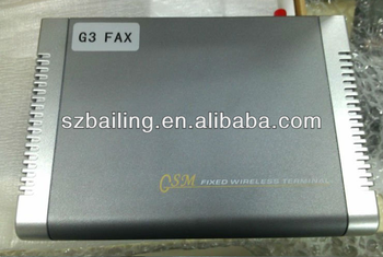 wireless GSM/GPRS Fixed Wireless Terminal with G3 FAX