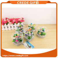 Wholesale kids tool birdcage home decoration Metal craft garden decoration