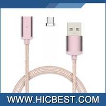 Promotional Gift Type C USB Cable Driver Download USB-C Data Cable Magnetic USB Charging Cable