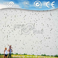 60x60cm Decorative Standard Size Mineral Fiber Board With Different Thickness