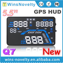 Q7 GPS HUD GPS Speed Warning System Car LED Head Up Display 48H Shipping