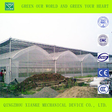 Film Cover Material and Single Layer commercial polytunnel greenhouse