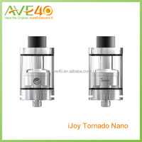 100% Authentic top filling 4ml Chip Coil IJOY Tornado Nano RTA with color change glass