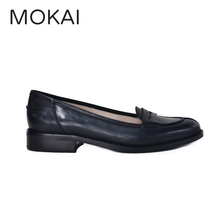 latest fashionable genuine leather women casual flats