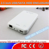"Mobile phone standly 2.5""USB 3.0 WIFI Hard Disk Case"