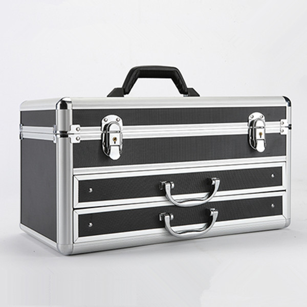 MLD-1102 with drawers aluminium tool case tool storage box
