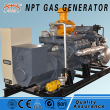 CE approved quiet 150kw wood gas generator for sale