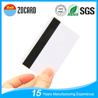 RFID PVC Blank Magnetic Gift Cards