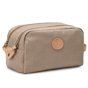Wholesale fashion custom travel women canvas makeup cosmetic bag