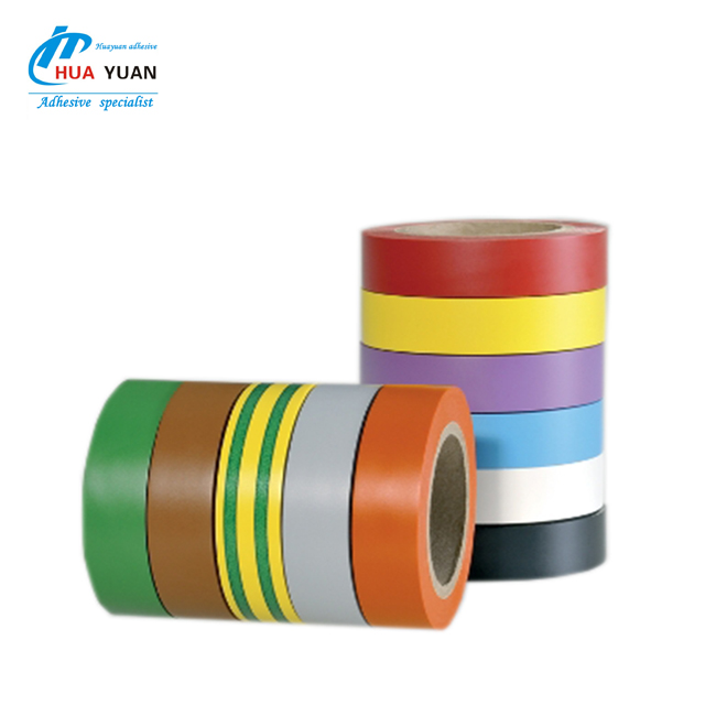Sample free ! Electrical insulation packaging use PVC insulation electrical tape