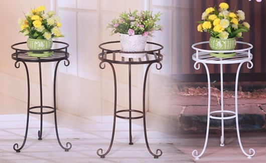 Gartendekoration online metall blumenst nder pflanzer innen moderne verkauf blumentopf und - Gartendekoration metall ...