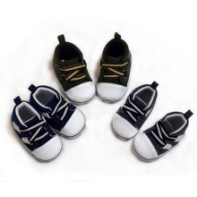 Elastic ribbon baby boy's shoes