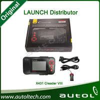 100% Original Launch CRP129 Launch crp129 CRP-129 code reader OBDII scanner update online for engine, transmission, SRS and ABS