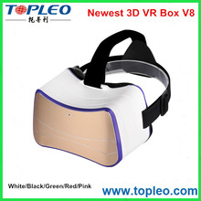 Fashion good selling vr box, 3d vr box glasses, 3d virtual reality vr box