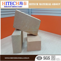 Zibo Hitech Low conductivity thermal insulation refractory bricks for cement rotary kilns