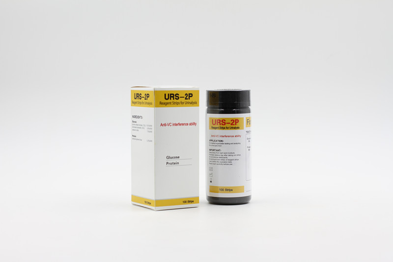 GLU+PRO urine test strips with Anti-Vc ability