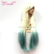 Factory Direct Sale Supply Beauty Cheap Long Straight Wig Cosplay