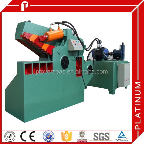 Q43-630 scrap iron alligator cutting machine